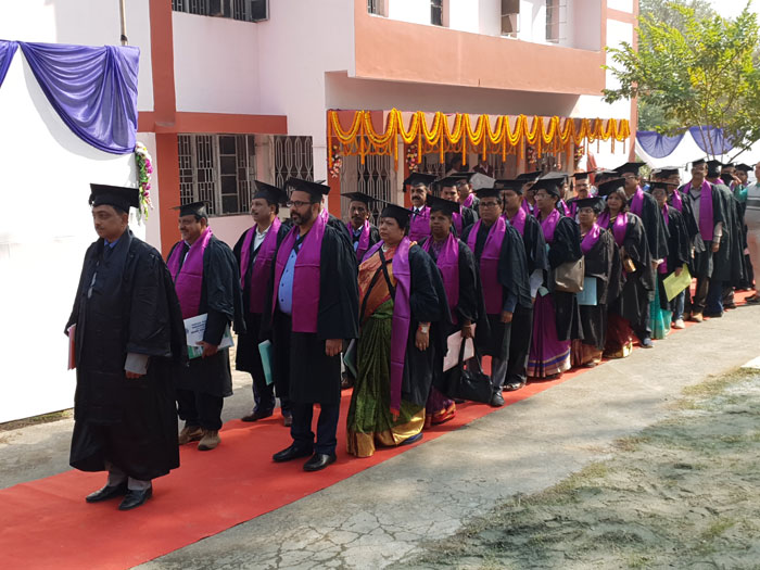 29th Convocation of Sambalpur University held on 5th January 2019