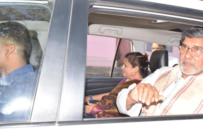 Visit of Noble Laureate Sri Kailash Satyarthi