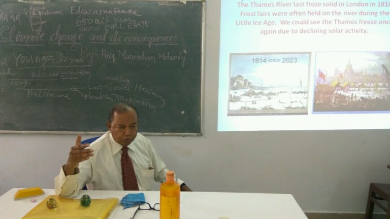 Prof. Manmohan Mohanti, Formerly Head of the Department of Geology, Utkal University, Bhubaneswar.