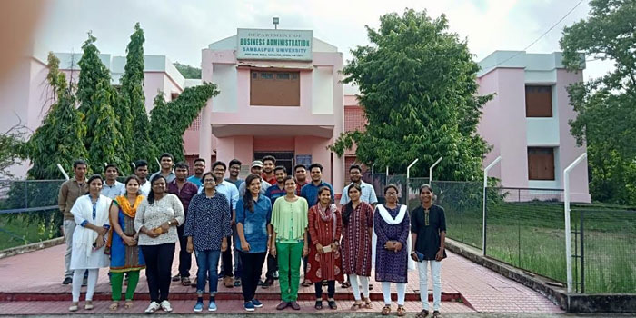 Freshers of PG Dept of MBA on Orientation Programme