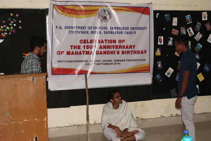 Celebration of 150th Birthday Anniversary of Mahatma Gandhi