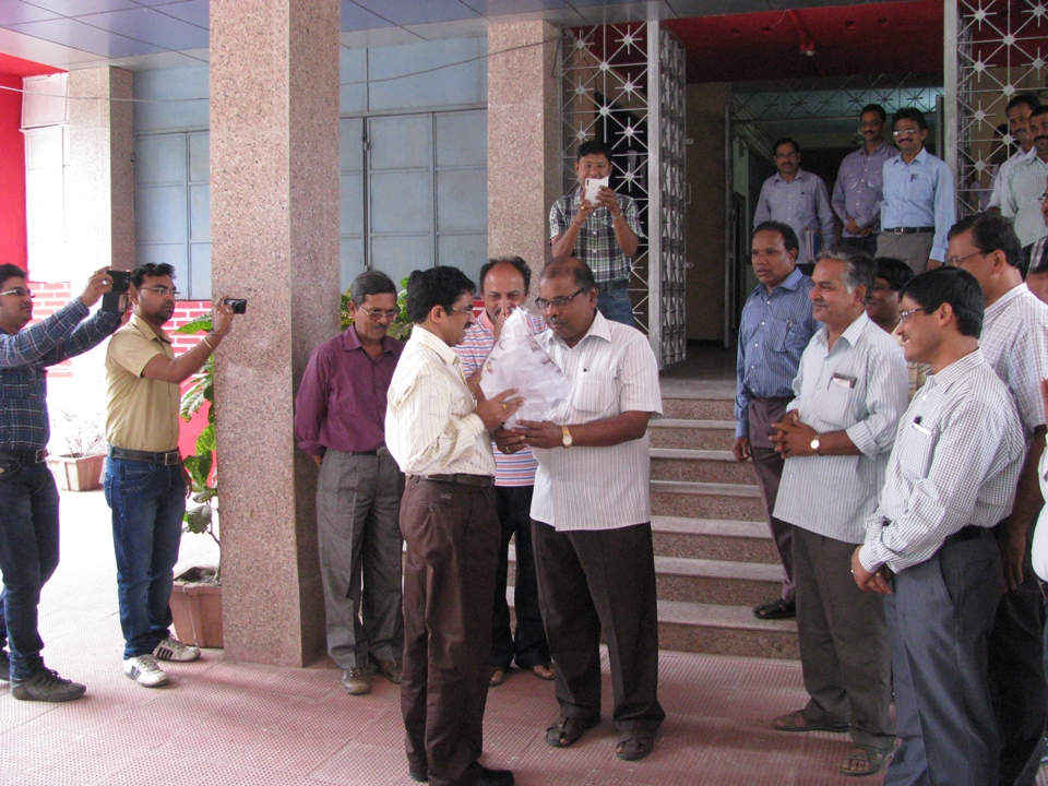 Charge Hand Over of Vice-Chancellor,Sambalpur University1