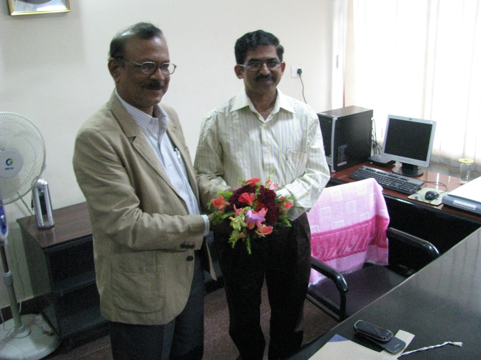 Charge Hand Over of Vice-Chancellor,Sambalpur University3