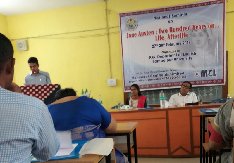 "National Seminar on ""Jane Austen, Two Hundred Years On..."", on 27-28 February 2018"