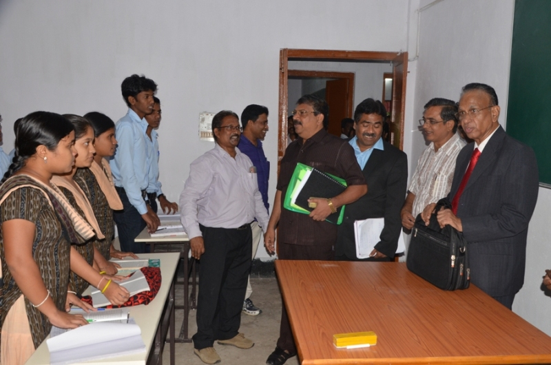 Interaction with the Students of Odia Dept