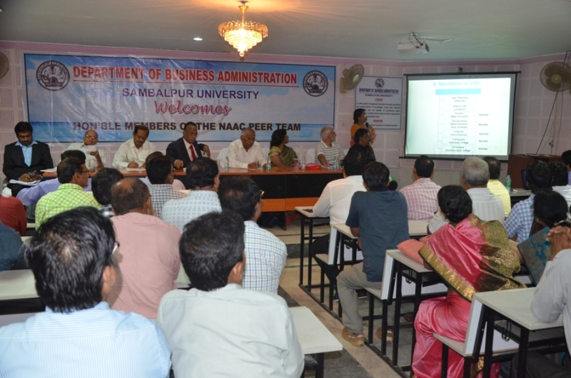 Presentation by the Director,College Development Council