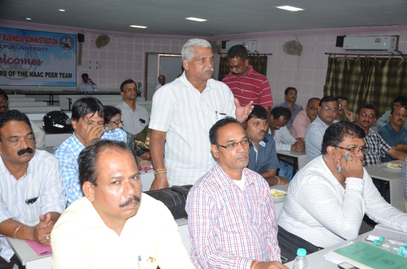 Interaction with Principals of Affiliated and Constituent Colleges