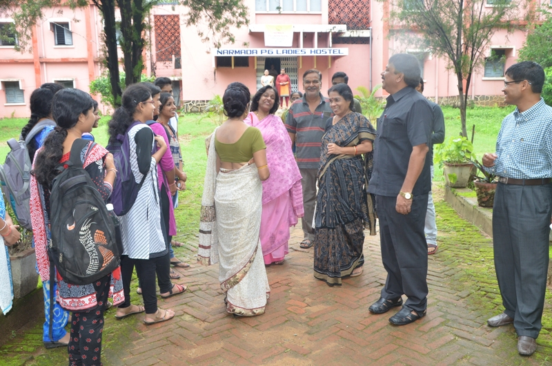 Visit to Narmada Ladies' Hostel