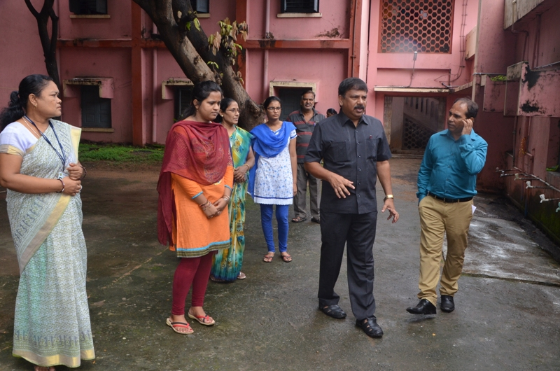 Visit to Prabhabati Devi Ladies' Hostel