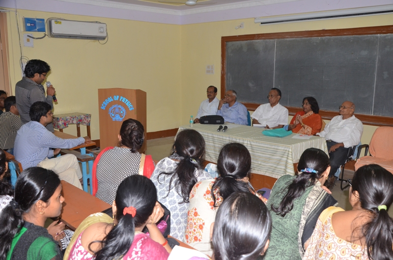 Interaction with the Research Scholars