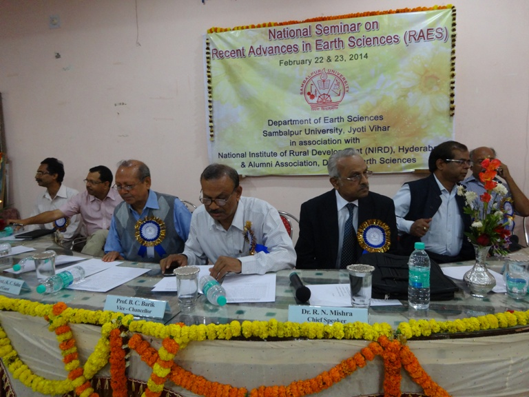 Inaugural function of the National Seminar organised by the Department