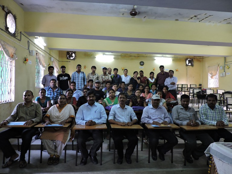 Participants  of the training programme jointly conducted by the Department and CGWB